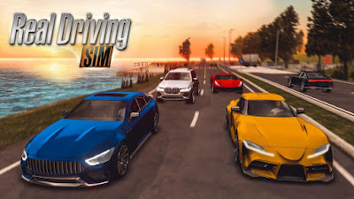 Real Driving Sim Mod (Unlimited Money) Apk + Data Free Download