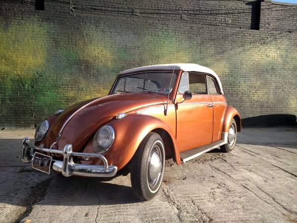 1959 VW Beetle Convertible For Sale