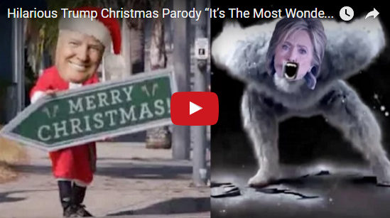 Scg Virals Hilarious Trump Christmas Parody It S The Most Wonderful Time In 8 Years