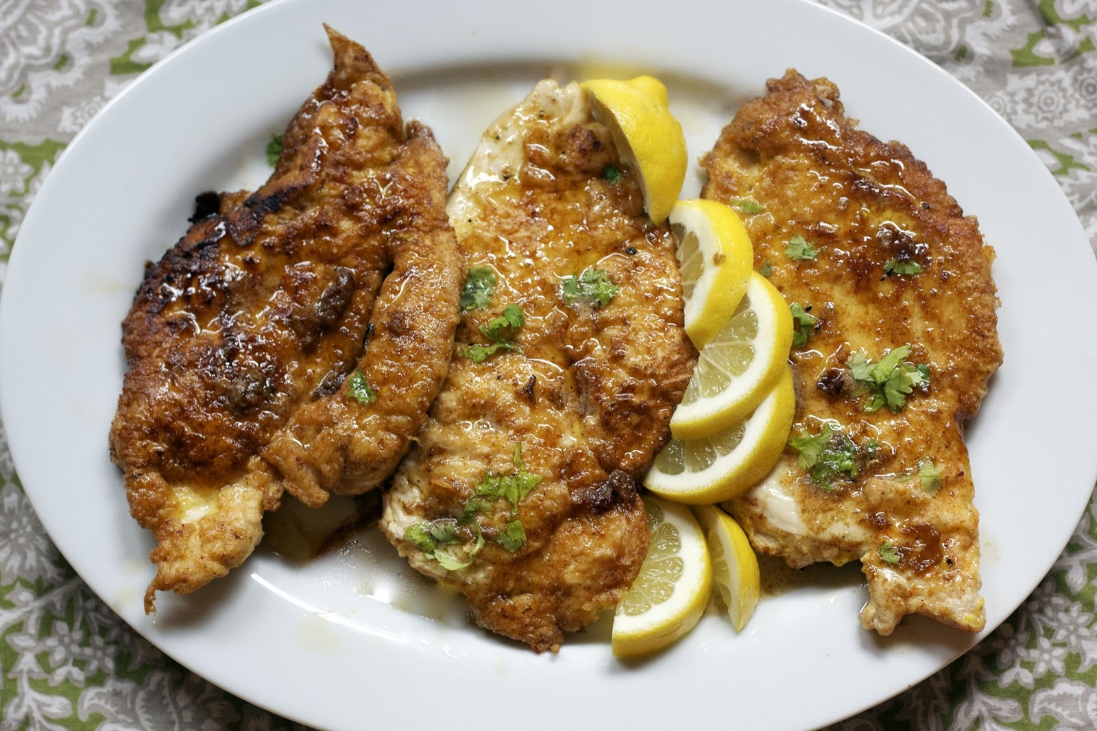 Chicken Francese Weekly Menu Plan Simple Living And Eating Chicken Francese Weekly Menu Plan