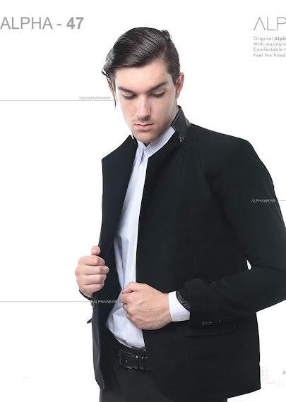 alphawear onew black blazer