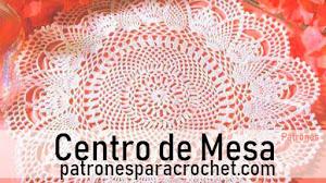 Decora tu hogar con hermoso centro de mesa redondo tejido a crochet