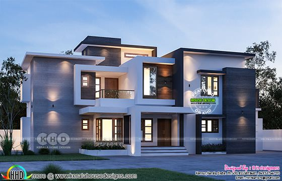 4 bedroom contemporary house in 2796 square feet