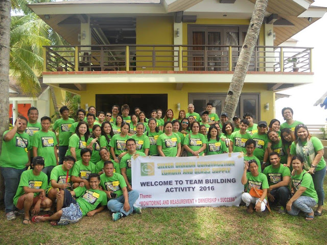 Silver Dragon Construction Team Building in Himamaylan City Negros Occidental Philippines