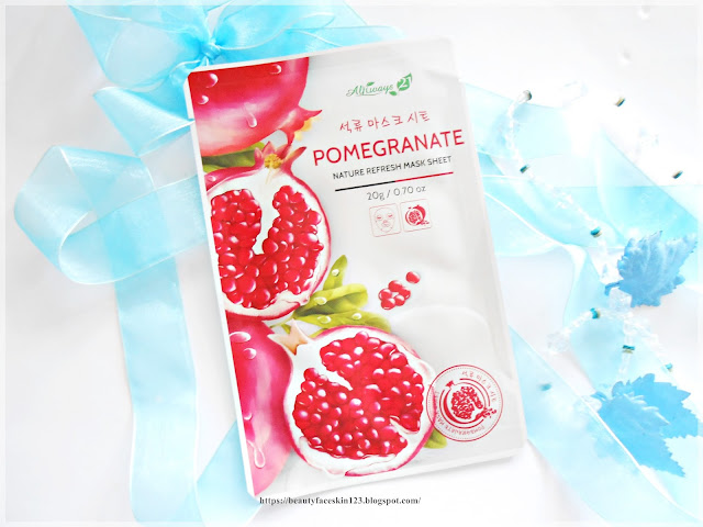 Always21 Nature Refresh Mask Sheet Pomegranate
