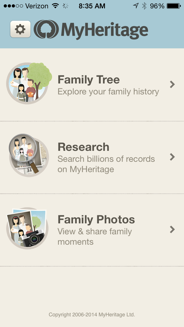 Genea-Musings: Technology Tuesday - MyHeritage Mobile App - Family Tree