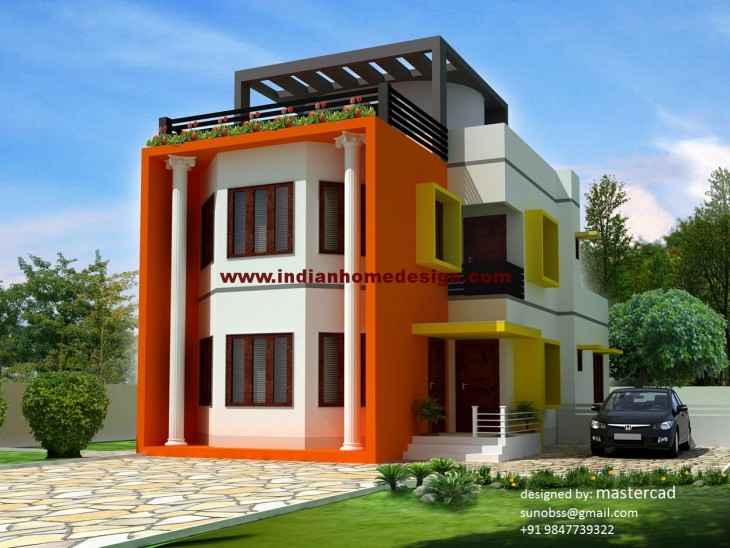 1500 Sq ft 3 Bedroom Beautiful House Design  Sq Ft House Layout Design Html on