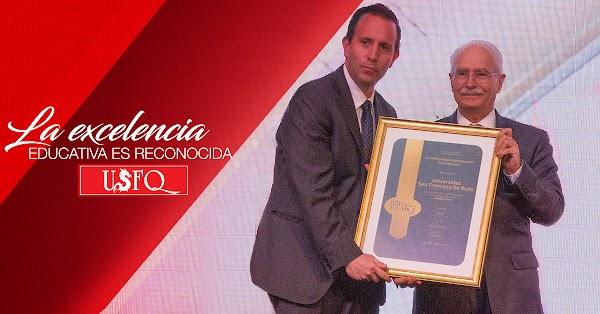 En sus 30 años, la excelencia educativa de la USFQ es reconocida con dos nuevos premios