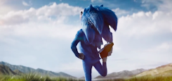 Sonic the Hedgehog here is the first trailer