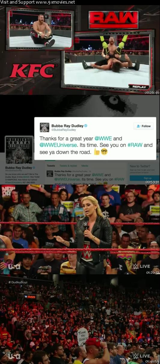 WWE Monday Night Raw 22 August 2016 HDTV 480p