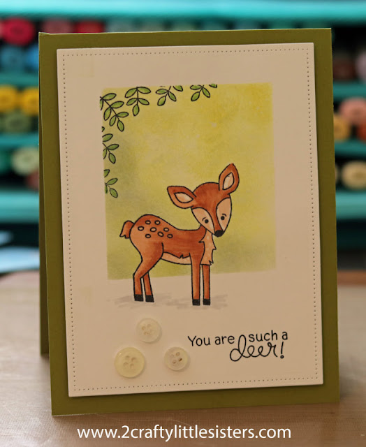 You are such a deer by Cindy features Deer Friend by Newton's Nook Designs; #newtonsnook