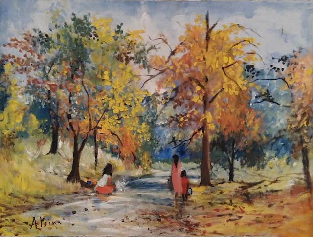 Alejandro Alsina. Art. Landscape