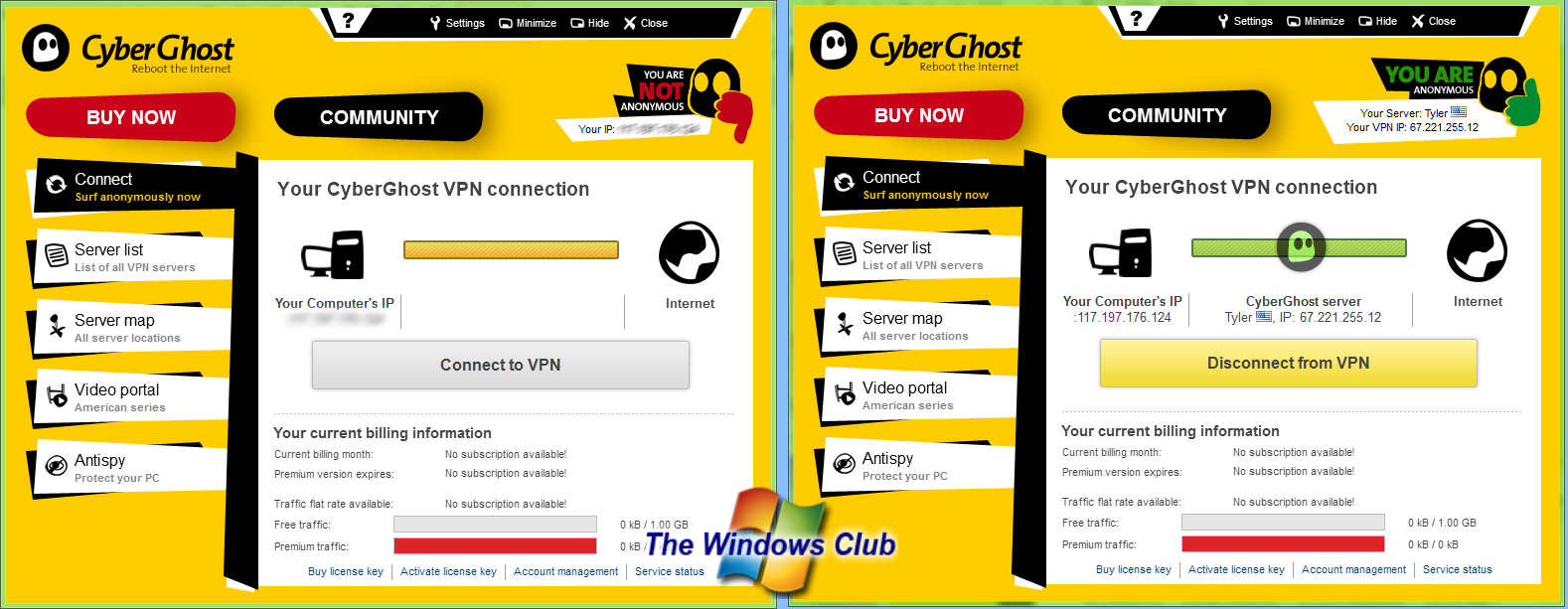 SurfEasy VPN for Windows