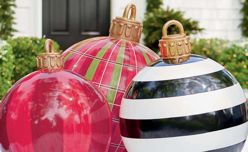 large outdoor christmas ornaments, outdoor christmas ornaments, giant outdoor christmas ornaments, outdoor christmas ball ornaments, oversized outdoor christmas ornaments, christmas decorations, holiday decorations, outdoor christmas decorations, jumbo outdoor christmas ornaments