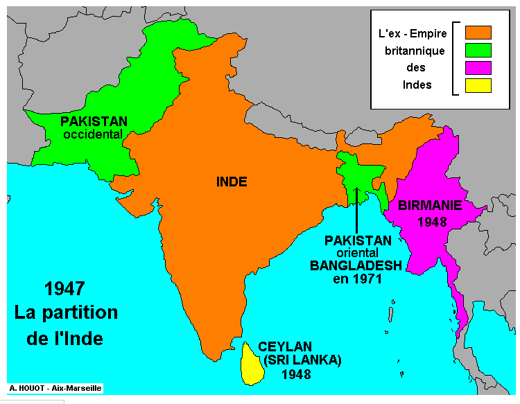 Carte De Linde.Histgeolb Carte De L Independance De L Inde