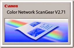 Canon Color Network Scangear 2.71