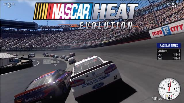NASCAR HEAT EVOLUTION-CODEX