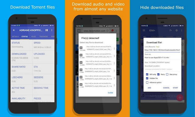 IDM Plus Fastest download manager apk free downlaod