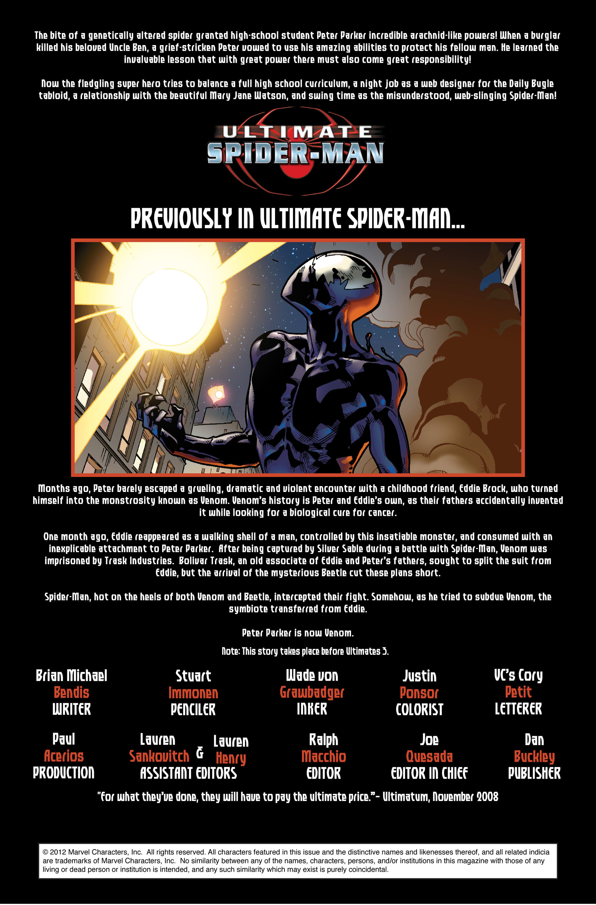 Read online Ultimate Spider-Man (2000) comic -  Issue #126 - 2