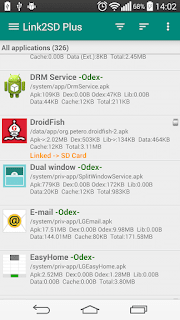 is a corking Android application that has many functionalities over application management  Indofoneboy Link2SD APK Android Application Download - The Ultimate Root App Manager