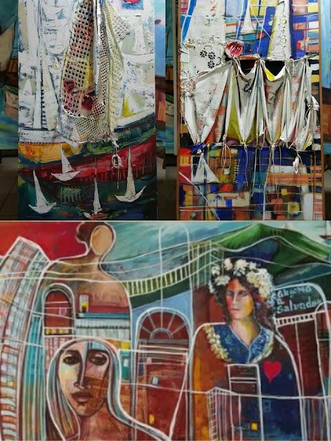 Museu Nacional da Cultura Afro-Brasileira apresenta exposição 'Um copo d'água para navegar II', da artista plástica Graça Ramos