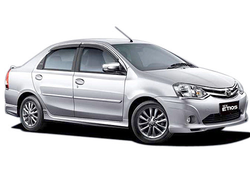 6+1 Toyota Innova car Hire : Toyota Etios Car Booking Delhi to outstation