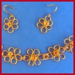 Flores de alambre