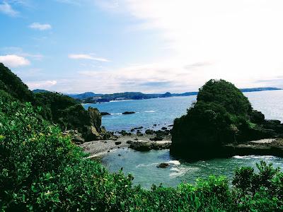 【南西に吉方位旅行】太古の海が湧き出る下賀茂温泉!龍宮窟と美しい海