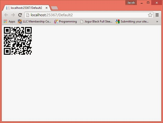 Generate QRCODE in ASP.NET