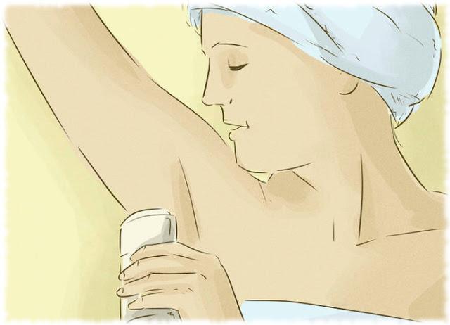 Metode untuk Menghilangkan Ketiak Basah