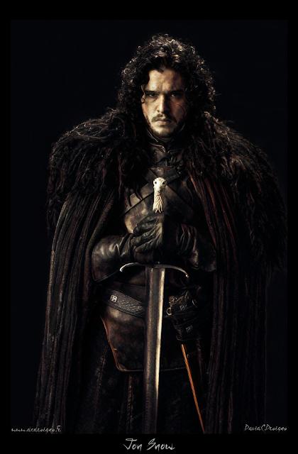 Game Of Thrones, Jon Snow, Kit Harington, Winter Is Coming, HBO, George R. R. Martin, Digital Art, Digital Paint, Digital Painting, Fan Art, Artwork, Poster, Print, DavidC.Designs