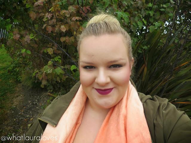 Kiko Refined Burgundy Lip Liner and Lipstick on WhatLauraLoves
