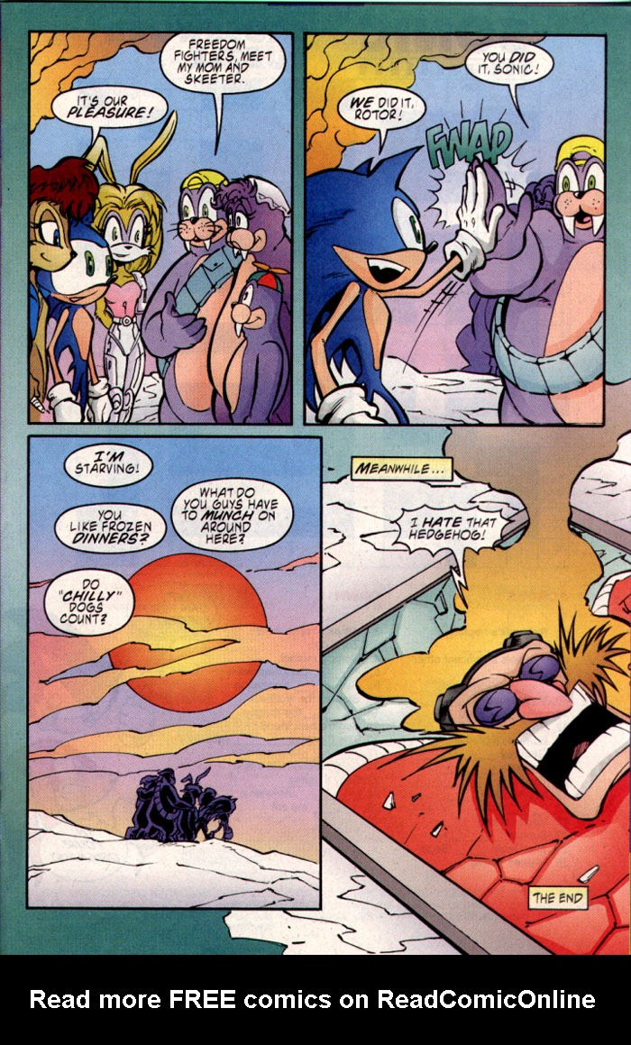 Read online Sonic The Hedgehog comic -  Issue #109 - 13