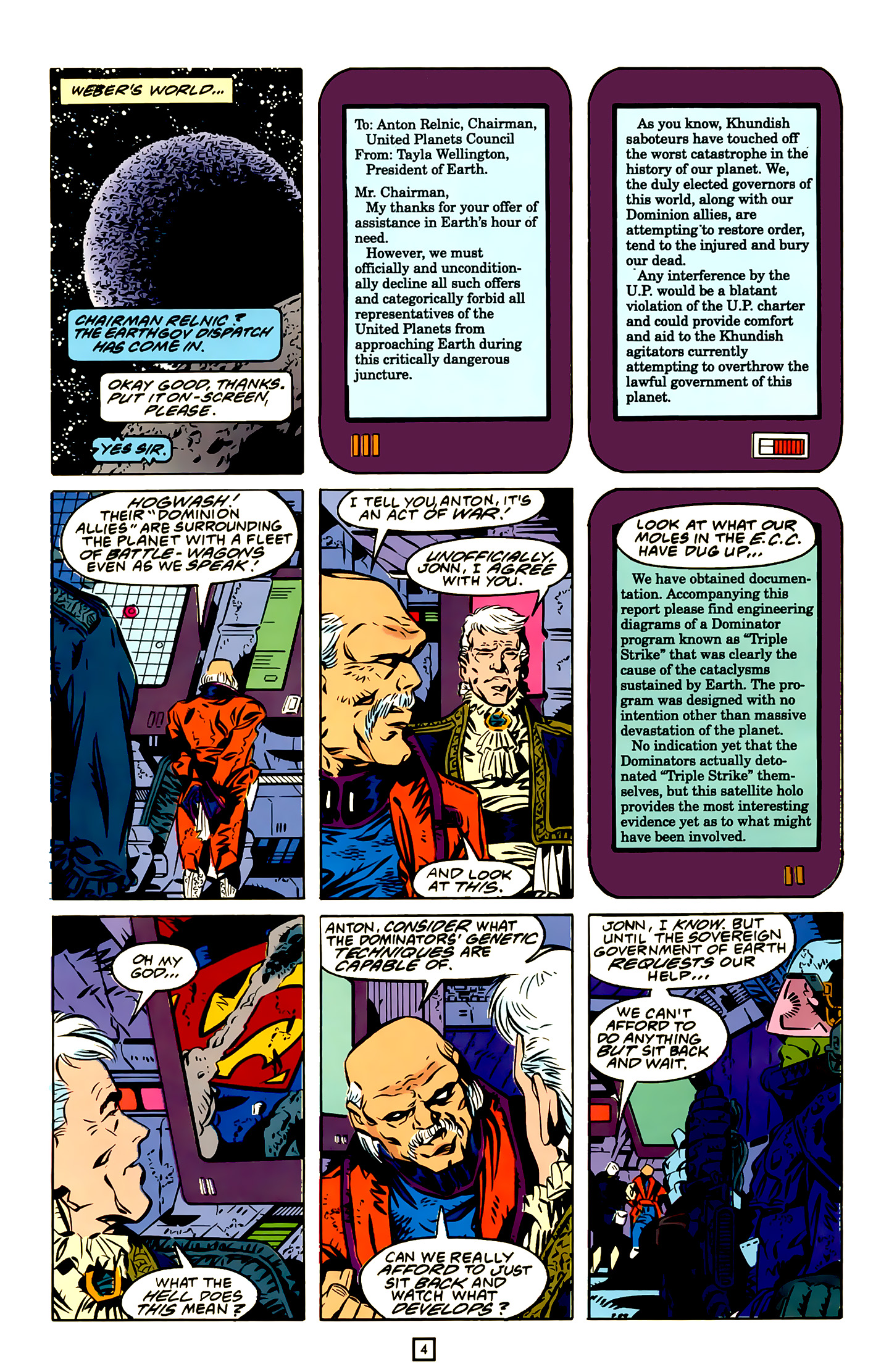 Legion of Super-Heroes (1989) 20 Page 4