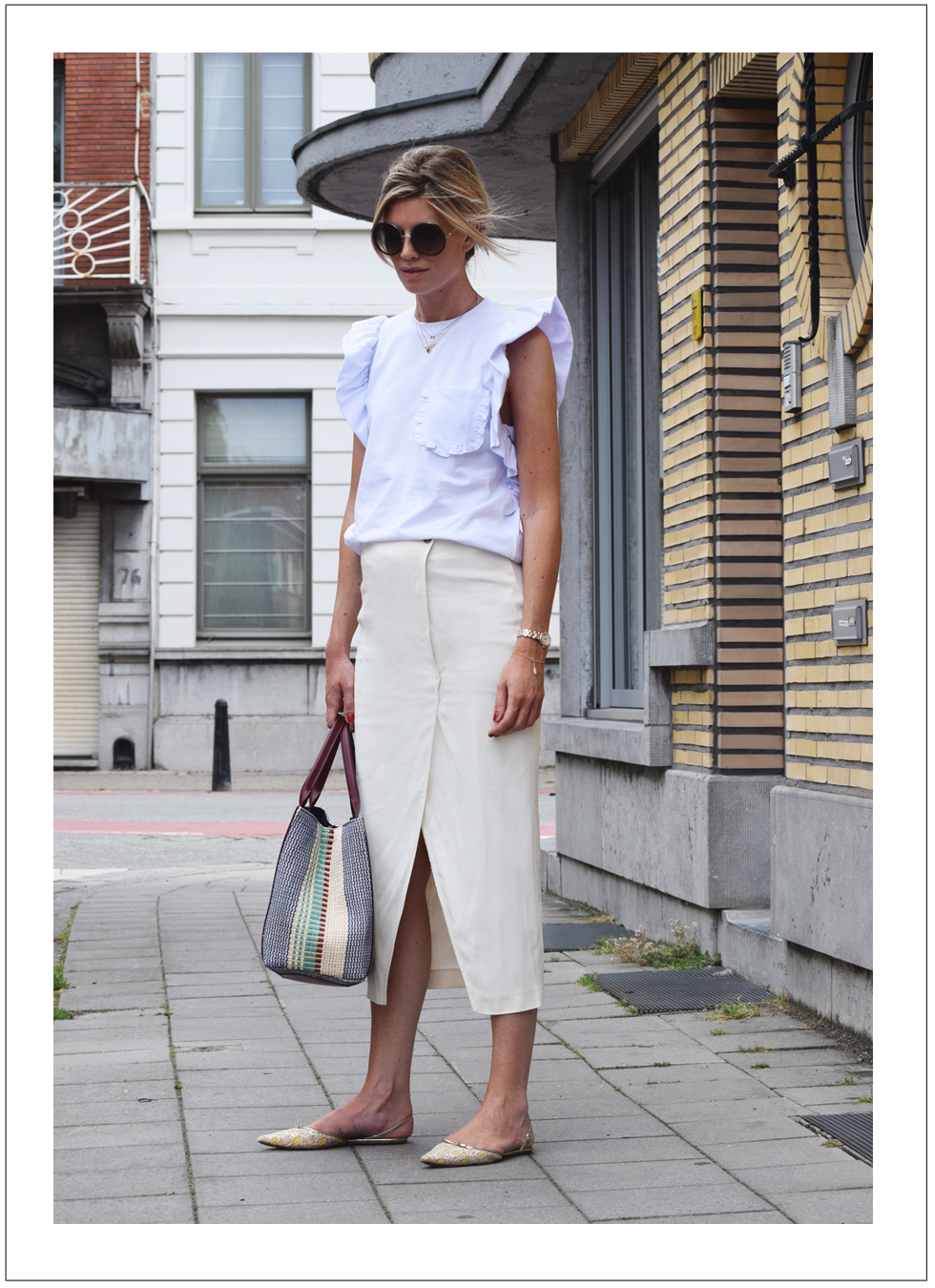 Outfit of the day, MSGM, Gianni, Chloé, Dewolf, Rochas, Sandro, Anne Zellien, Minitials, Tiffany Co, Frederique Constant, ootd, style, trend, fashion, blogger, summer
