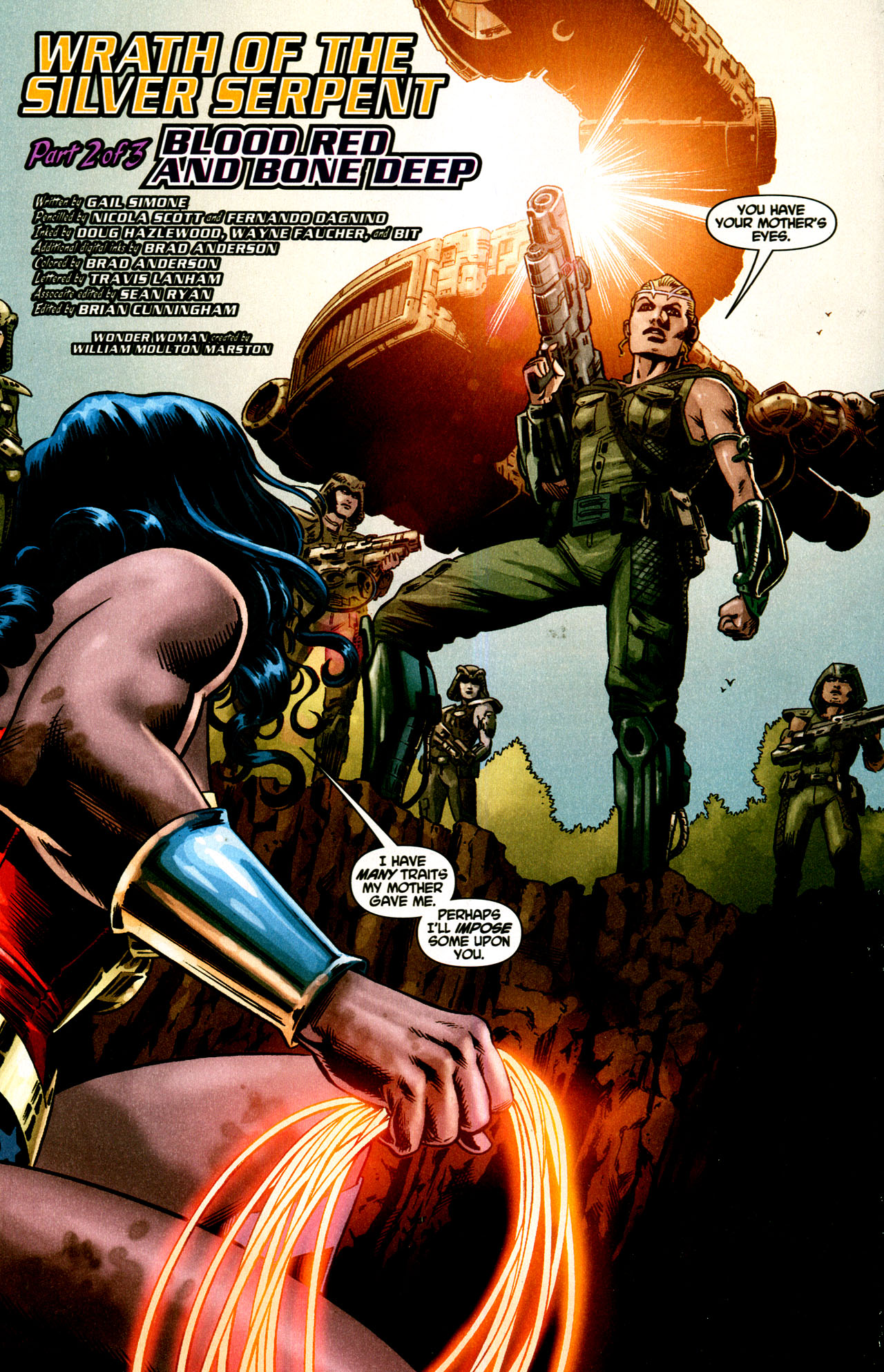Read online Wonder Woman (2006) comic -  Issue #43 - 5