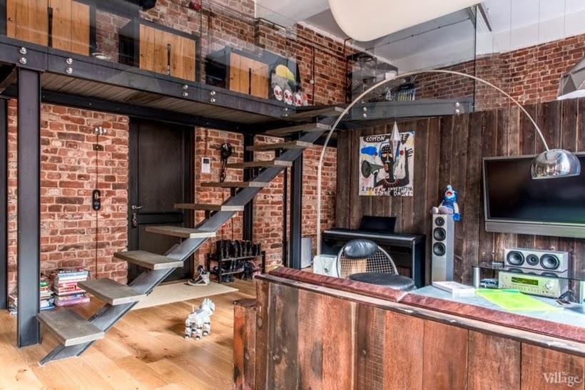 World of Architecture: Industrial Interior Design Idea ...