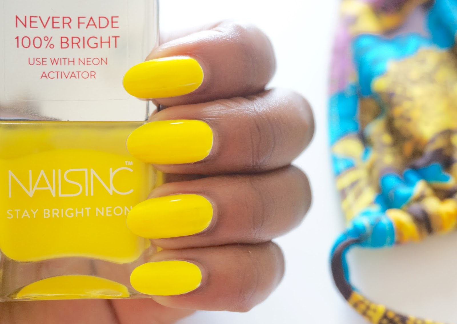 NAIL PAINT OF THE WEEK: NAILS INC. GOLDEN LANE STAY BRIGHT NEON ...