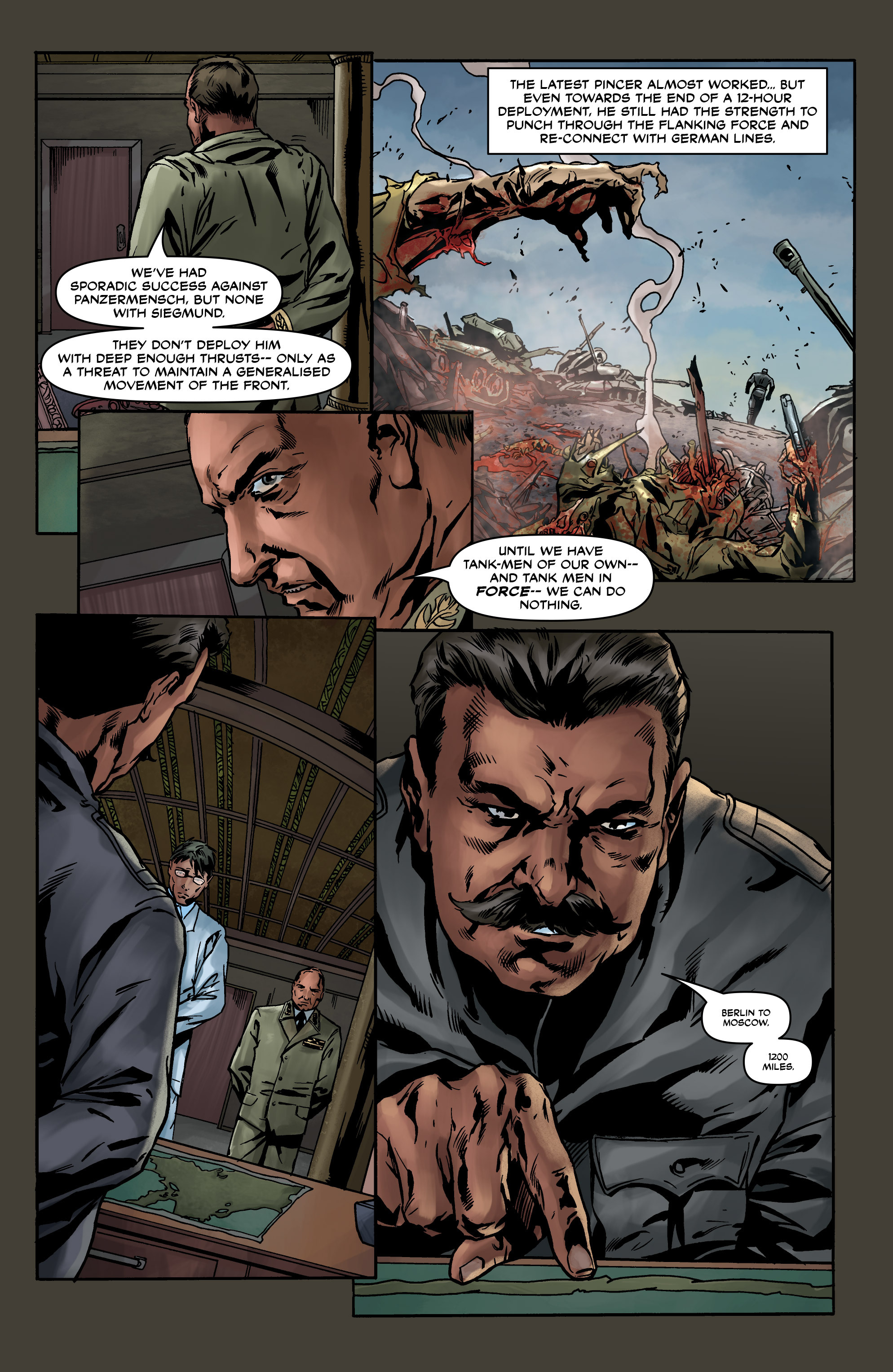 Read online Uber comic -  Issue #8 - 15