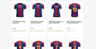 fd30b5841 Available in the US  Special-Edition Nike FC Barcelona El Clasico Kit Leaked