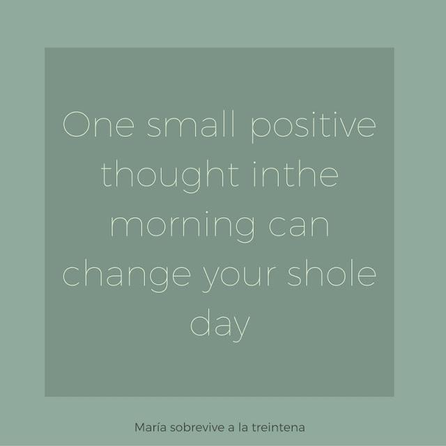 frase pensamiento positivo