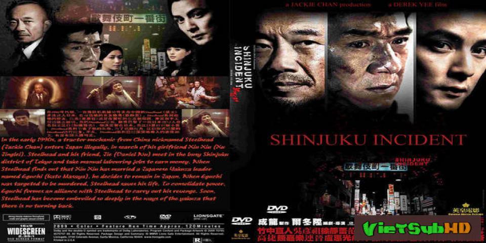 Phim Đại Náo Shinjuku VietSub HD | Shinjuku Incident 2009