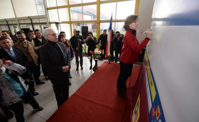 Ministra Cubillos encabeza entrega regional de Fondos