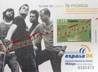 EXPOSICIÓN MUNDIAL DE FILATELIA, LA MÚSICA II