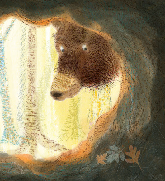 Creating a bear Illustration and memories too...
