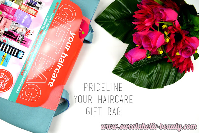 Priceline Hair Care Goody Bag - Sweetaholic Beauty