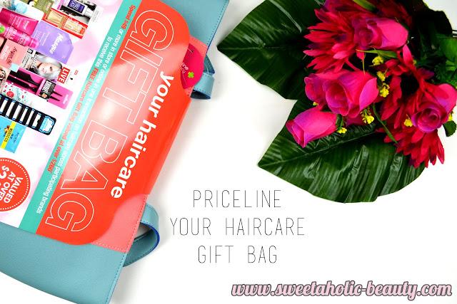 Priceline Hair Care Goody Bag - Sweetaholic Beauty