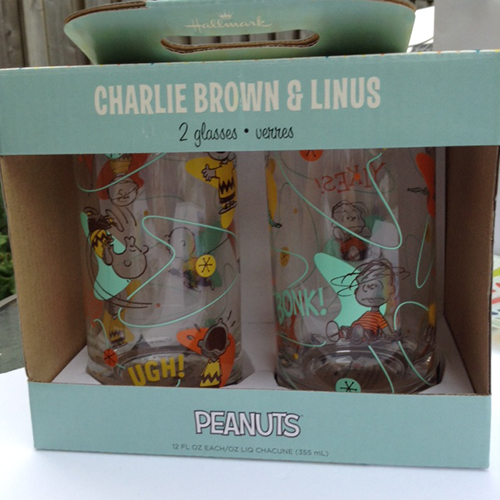 Charlie Brown and Linus Glasses Hallmark Has Great Back To School Supplies ~ #Review #LoveHallmark