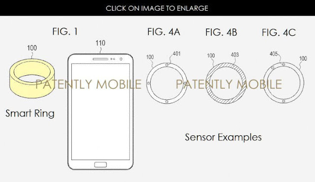 patent rings from samsung