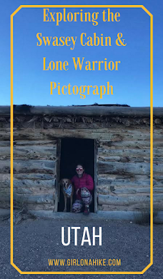 Exploring the Swasey Cabin & Lone Warrior Pictograph